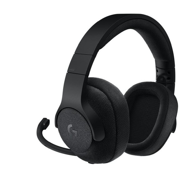 Logitech G433 7.1 Surround Gaming Headset - Black for PC Games