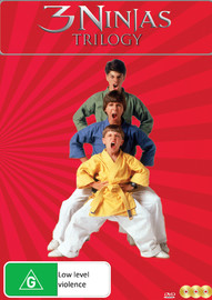 3 Ninjas Trilogy on DVD