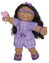 "Cabbage Patch Kids: 14"" Plush Doll - Romper Girl"