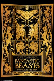 Fantastic Beasts 2 Maxi Poster - Book Cover (952)