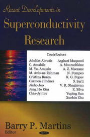 Recent Developments in Superconductivity Research image