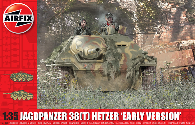 Airfix: 1:35 Jagdpanzer 38 Tonne Hetzer 'Early Version'