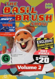 Basil Brush Show, The - Volume 2 on DVD image
