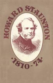 Howard Staunton 1810-74 by David N.L. Levy image