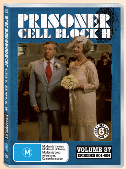 Prisoner Cell Block H: Vol. 37 - Episodes 601 -624 (6 Disc Set) image