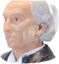 Doctor Who 1st Doctor Toby Jug Mug