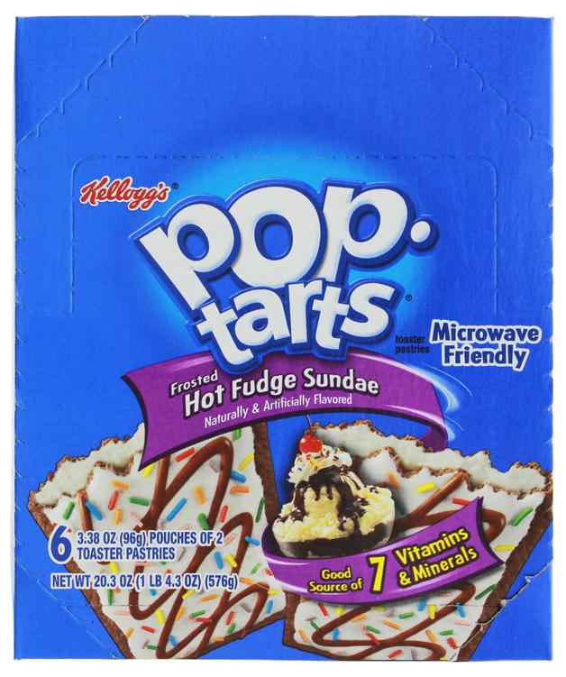 Kellogg's Pop Tarts Hot Fudge Sundae