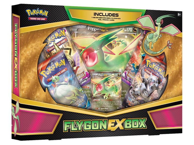 Pokemon TCG XY Flygon - EX Box image