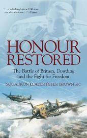 Honour Restored by Peter Brown image