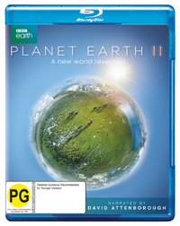Planet Earth II on Blu-ray