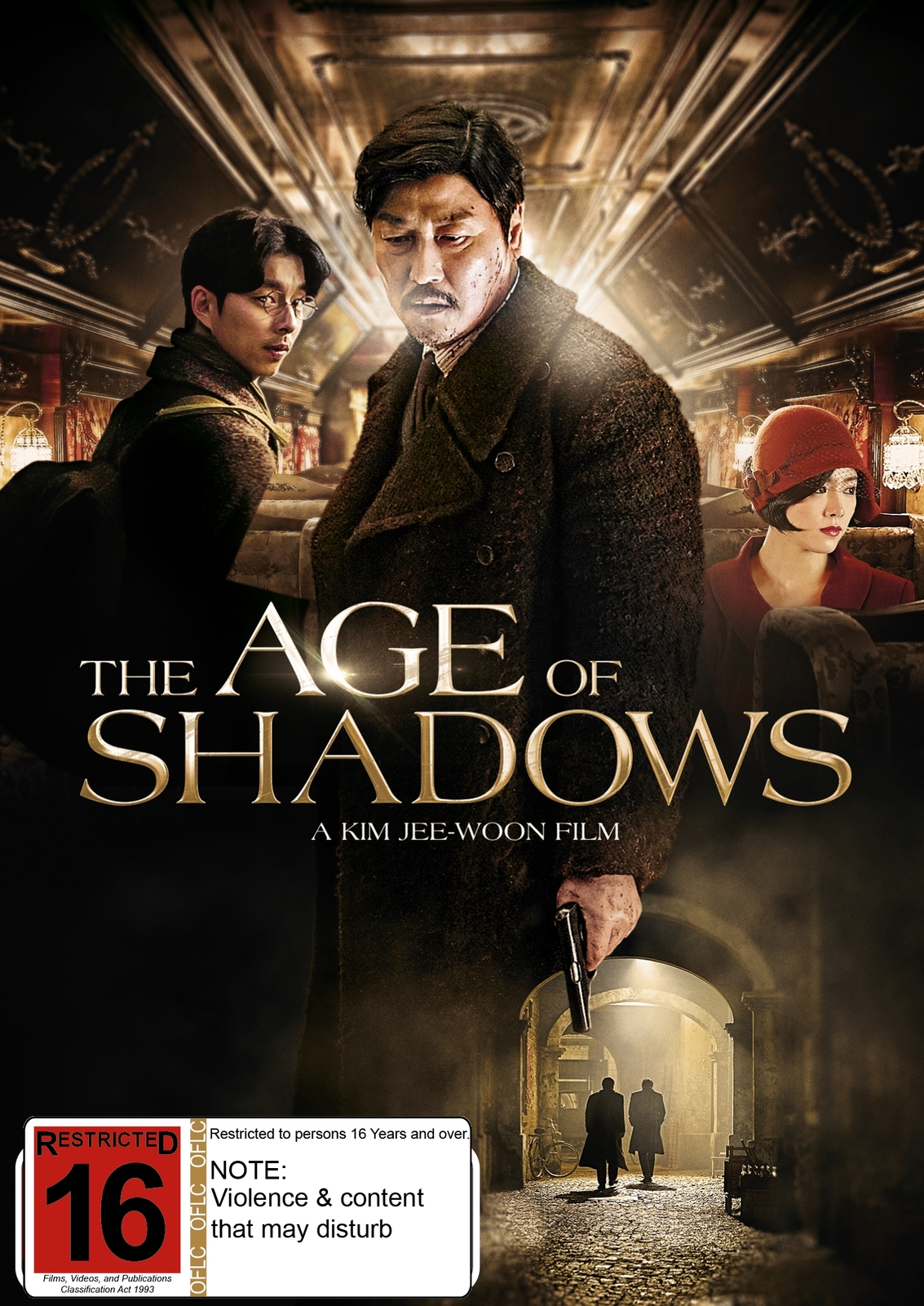 The Age Of Shadows on DVD image