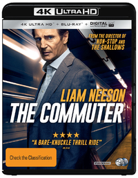 The Commuter (4K UHD + Blu-ray) on UHD Blu-ray