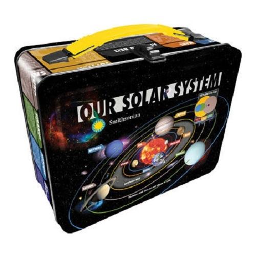 Smithsonian - Our Solar System Tin Fun Box