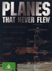 Planes That Never Flew on DVD