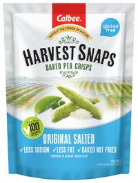 Calbee: Harvest Snaps Baked Pea Crisps - Original Salted (93g)