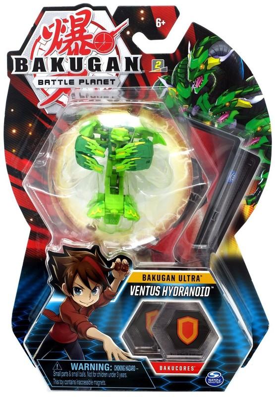 Bakugan: Battle Planet - Core Pack (Ventus Hydranoid)