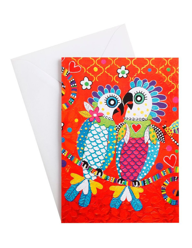 Maxwell & Williams: Love Hearts Greeting Card - Fan Club