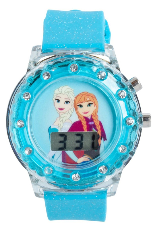 Frozen Light Up LCD Watch