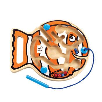 Hape: Go-Fish-Go Maze Toy image