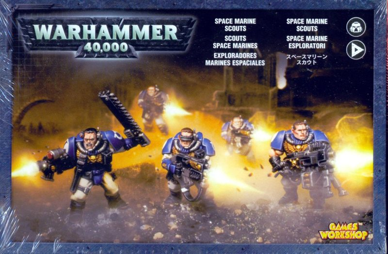 Warhammer 40 000 Space Marine Scouts At Mighty Ape Nz