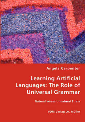 Learning Artificial Languages by Angela Carpenter