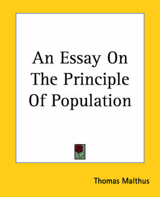 malthus an essay on the principle of population quotes