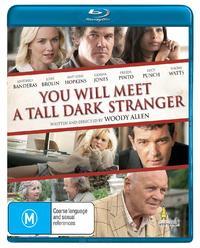 You Will Meet A Tall Dark Stranger on Blu-ray
