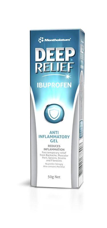 Deep Relief Ibuprofen Gel - 50g