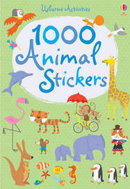 1000 Animal Stickers by Fiona Watt