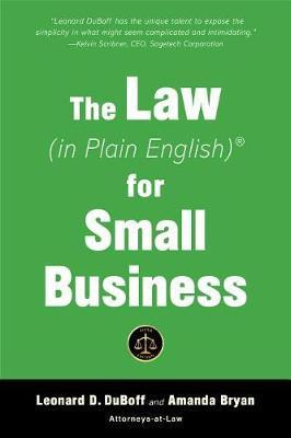 The Law (in Plain English) for Small Business (Fifth Edition) by Leonard DuBoff