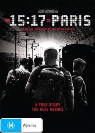 The 15:17 to Paris on DVD