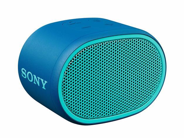 Sony: SRSXB01L Portable Wireless Speaker - Blue