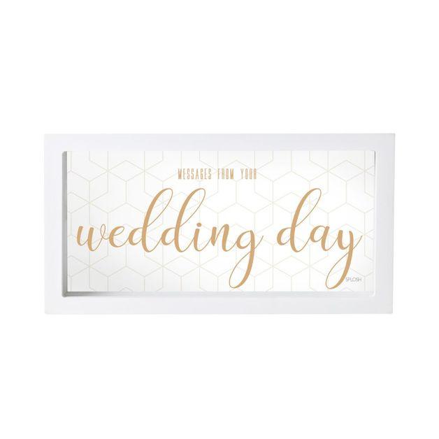 Splosh Message Box - Wedding Day