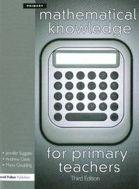 Mathematical Knowledge for Primary Teachers by Andrew Davis image