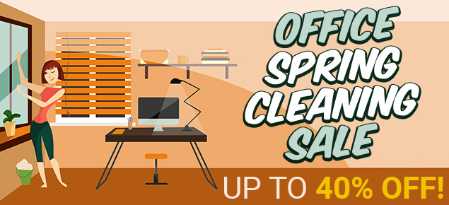 Office Spring Cleaning Sale!