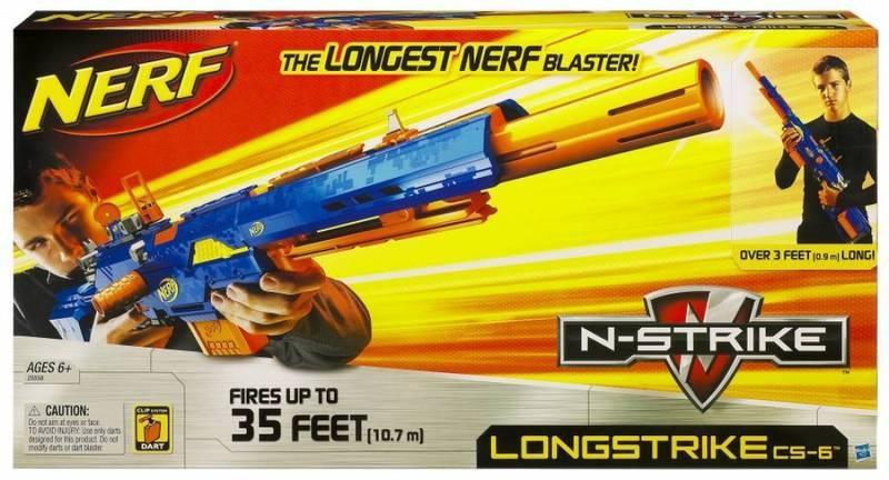 Nerf N-Strike Longstrike CS-6 image