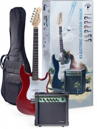 Stagg S250 Electric Guitar & Amp Pack (Red)