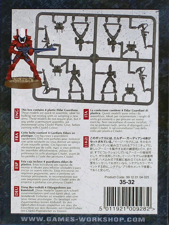 Warhammer 40,000 Eldar Guardians image