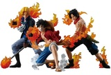 One Piece: Attack Styling Flame Brothers Figure Set