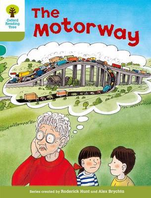 Oxford Reading Tree: Level 7: More Stories A: The Motorway by Roderick Hunt image