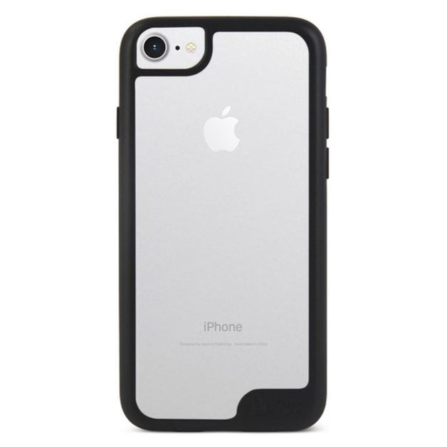 Gecko Vision Case for iPhone 7/6/6s - Black Trim