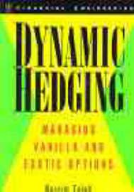 Dynamic Hedging by Nassim Nicholas Taleb