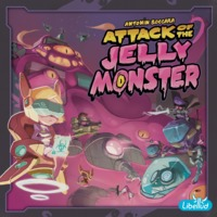 Attack of the Jelly Monster - Board Game