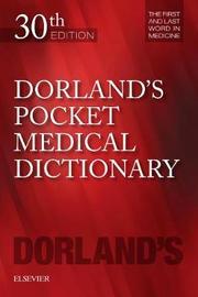 Dorland's Pocket Medical Dictionary by Dorland image