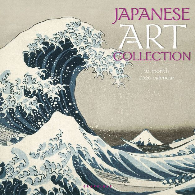 Japanese Art Collection 2020 Square Wall Calendar