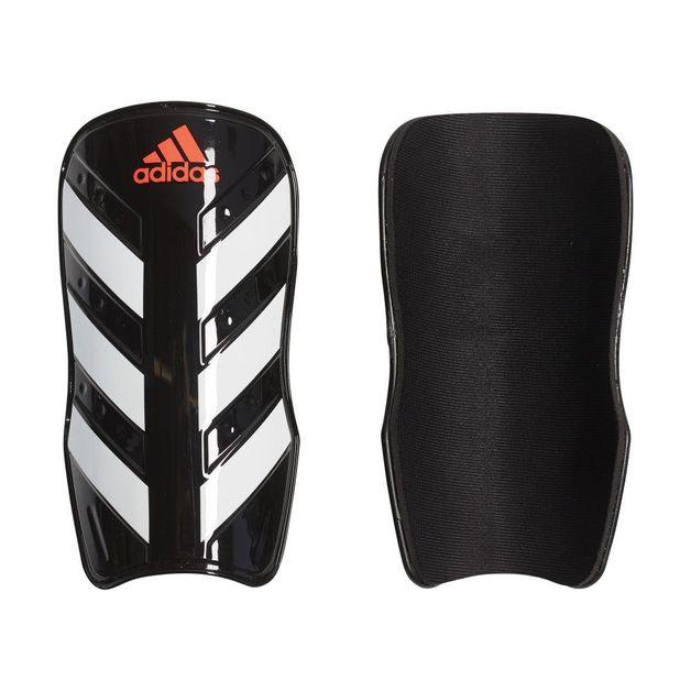 Adidas: Everlesto Shin Guard - Black/White/Solar Red (Medium)