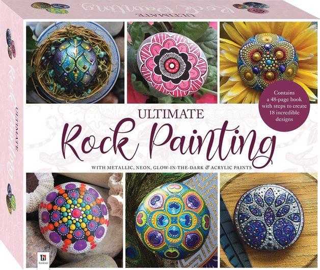 Ultimate: Rock Painting Art - Box Set