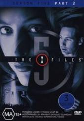 X-Files, The Season 5: Part 2 (3 Disc) on DVD