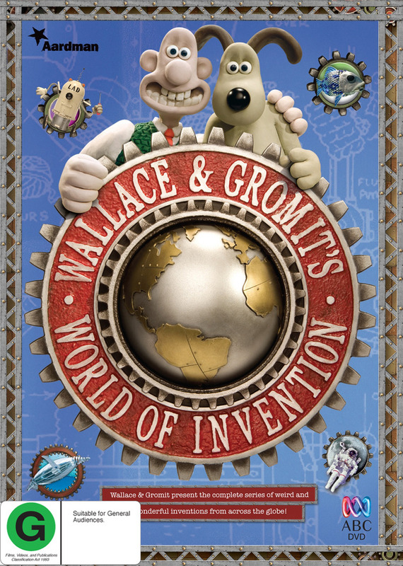 Wallace & Gromit's World of Invention: Season 1 on DVD