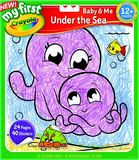 Crayola: My First Colour & Sticker Book - Under The Sea